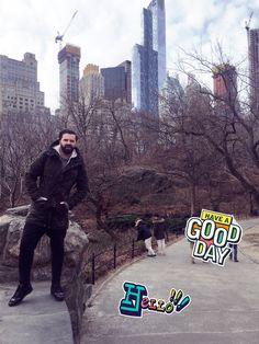 Vacanța de iarna 😜 #newyork #centralpark #me #holidaytime #doctors #doctorlazarescu #drlazarescu