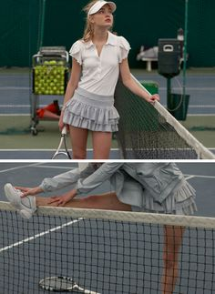 i want this tennis outfit. playing tennis with style!