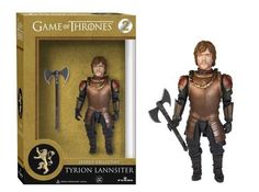 Game of ThronesLegacy Collection introduces some of the series' most popular characters. The Tyrion Lannister Legacy Action Figure is a highly articulated action figure that includes an axe and a necklace as accessories. #funko #legacy #vinyl #toy #actionfigure #collectible #tyrionlannister
