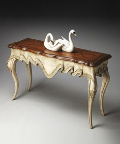 Look at this French-Provencal Inspired Console Table on #zulily today!