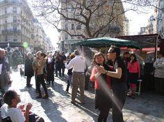 Danser au Marché Mouffetard... !  Paris