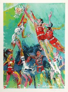 Leroy Neiman Hoiser Hoopla art painting for sale; Shop your favorite Leroy Neiman Hoiser Hoopla painting on canvas or frame at discount price. Leroy Neiman, Art Paintings For Sale, Antique Auctions, Sports Art, Fascinator, Modern Design, Projects To Try, Antiques, Canvas