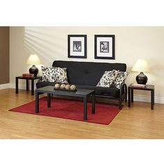 Futon 89 Wal Mart Frame Bed Mattress Living Room