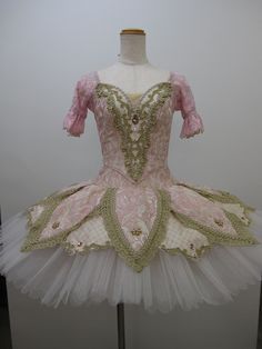 """This brand new creation is ideal for the role of """"Dulcinea"""" in Don Quixote, but can also be used for roles such as """"Sleeping beauty"""", """"Sugar Plum Fairy"""" and many other classical roles. The bodice is c"""
