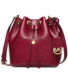 MICHAEL Michael Kors Greenwich Small Bucket Bag - Michael Kors Handbags - Handbags & Accessories - Macy's