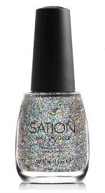 Sation Miss Bling It On Glitter Nail Polish 9042