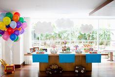 festa tema bolas coloridas - Pesquisa Google