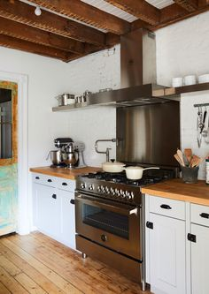 What's Cooking - Designer Chris Benz's Colorful Brooklyn Brownstone - Photos