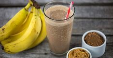 Chocolate Peanut Butter Smoothie Blendtec Click the image for more info. Peanutbutter Smoothie Recipes, Chocolate Peanut Butter Smoothie, Peanut Butter Protein, Protein Shake Recipes, Delicious Chocolate, Coconut Protein, Caramel Frappe, Peach Syrup, Blender Recipes