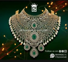 Exclusive diamond multipurpose chokers vast collection only at Sri Shankarlal Jewellers . IGI Certified Diamonds in Reasonable Prices . For any further information Please feel free to Contact 7702434540 ! Rose Gold Choker Necklace, Real Diamond Necklace, Diamond Jewellery, Diamond Choker, Emerald Necklace, Wedding Jewellery Designs, Bridal Jewelry Sets, Bridal Jewellery, Wedding Jewelry