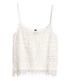 H&M Lace top $29.95