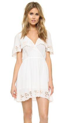 MINKPINK White Shadows Dress