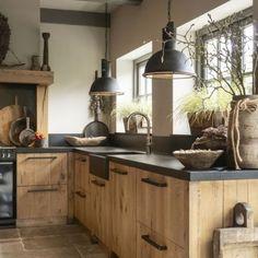 Elegant Kitchen Design Ideas For A Family Home Design To Try Family Kitchen, Home Decor Kitchen, Interior Design Kitchen, Country Kitchen, New Kitchen, Home Kitchens, Home Design, Design Ideas, Dream Kitchens