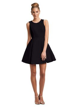 Little Black Dress for a black tie affair. Kirribilla Fiore Bridesmaid Dress | Weddington Way.