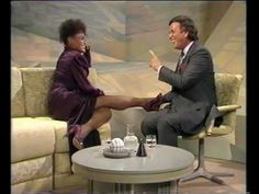 Eartha Kitt  'I want to be evil' - live on 'Wogan' + interview part 1 - YouTube