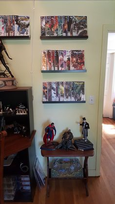 Meet this week's Featured Collector! | Sideshow Collectibles Comic Book Storage, Nerd Room, Sideshow Collectibles, Game Room, The Collector, Man Cave, Bookcase, Geek, Living Room Playroom