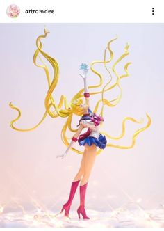 Sailor Moon Fan Art, Sailor Moon Manga, Sailor Moon Crystal, Vinyl Figures, Action Figures, Glitter Force Toys, Sailor Moon Collectibles, Sailor Moom, Anime Figurines