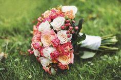 Como fazer um buquê de casamento | #jardinagem #flores