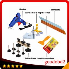 ==> [Free Shipping] Buy Best PDR Tools Paintless Dent Repair Tool Glue Gun Dent Remove Bridge Car Scratch Repaire Pen with Windscreen Windshield Repair Kit Online with LOWEST Price | 32808321292