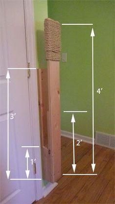 Makiwara - dimensions
