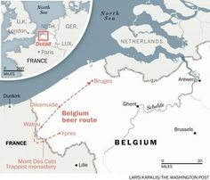 A self-propelled Belgium brewery tour through Belgium lets you bike to pints - The Washington Post