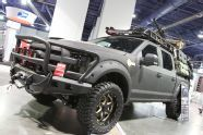 View 01 Operator Ford Sema 2015 - Photo 94271533 from Operator Edition Dominating Road Armor's SEMA 2015 Booth F150 Truck, Jeep Truck, Ford Trucks, Truck Camper, Overland Truck, Expedition Vehicle, Tactical Truck, Tactical Gear, Jacked Up Chevy