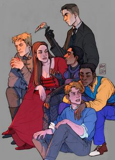 All crows! Six of crows #Leigh Bardugo
