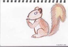 Картинки по запросу drawing squirrel