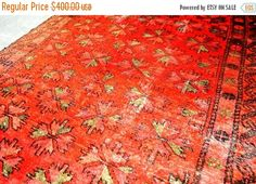 40% OFF SALE Antique Moroccan Tribal Rug by TEKKARUG on Etsy