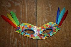 Masque de carnaval. 2ème année