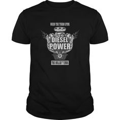 cool When The Turbo Spins Diesel Power Great Funny Gift For Any Diesel Mechanic Fan Lover T-Shirts, Hoodies, Sweaters