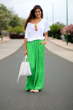 Green & White | marilyn's closet
