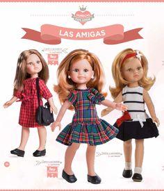 KasatkaDollsFashions: Новинки из каталога 2016 среди кукол-подружек 32 см Паола Рейна (Paola Reina)