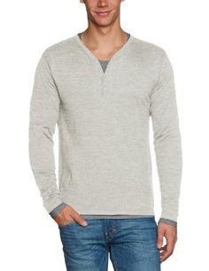 Scotch & Soda Herren Pullover 13040860043 Classic cotton/acrylic granddad Scotch & Soda, http://www.amazon.de/dp/B00D6G2HOM/ref=cm_sw_r_pi_dp_Z44jsb1795WKB