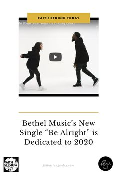 "With all the chaos and negativity the year 2020 has brought us, Dante Bowe's new single ""Be Alright,"" featuring Amanda Lindsey Cook, is a welcome relief.  The hooky chorus of ""it's gonna be alright, alright, alright"" and the low-key synth-pop groove has a calming effect. And lyrics like, ""This won't last forever Baby, it's gonna get better,"" don't hurt either."