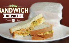 Sandwich de pollo Salvadoreños