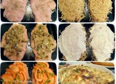 Chicken Breast with Potato and Vegetable Blanket is a great inspiration to surprise your loved ones. One of the great advantages of this recipe is that it can be prepared in almost a thousand differen Smoked Bacon, Sour Cream, Ham, Mashed Potatoes, Chicken Recipes, Bingo, Breast, Eggs, Vegetables