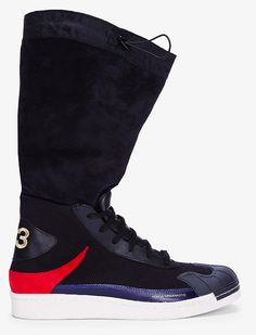 Y-3 Black Nomad Star Sneakers