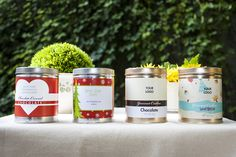Edibelles new single flavor tins available with custom labels for any occasion