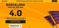 el forero jrvm y todos los bonos de deportes: betfair Barcelona gana Malaga supercuota 4 Liga 23...
