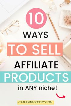 Are you a new blogger looking to make extra money with your blog through affiliate marketing? Do you know what the best ways to sell affiliate products are? Here are 10 ways I like to do it! Plus, get my list of over 40 profitable and high paying affiliate programs for all bloggers (in ANY niche)! #affiliateprograms #affiliatemarketing #affiliatemarketingtips #affiliatemarketingforbloggers #affiliatemarketingfornewbloggers #blogging #bloggingforbeginners #bloggingtips Business Marketing, Marketing Companies, Marketing Ideas, Business Networking, Marketing Strategies, Affiliate Marketing, Content Marketing, Business Tips, Online Marketing