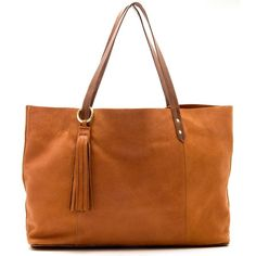 Bleeker Tote - Large Bags - Handbags   gorjana & griffin ❤ liked on Polyvore