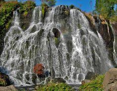 Jermuk waterfall, Armenia