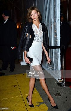 Karlie Kloss attends The Ninth Annual CFDA/Vogue Fashion Fund Awards at 548 West 22nd Street on November 13, 2012 in New York City.
