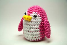 Penguin Pincushion in Pink. $18,00, via Etsy.