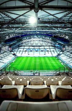 Velodrome Marseille, Basketball Court, Soccer, Football Stadiums, European Football, France, Places, Design, Legends