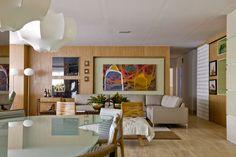 Banhado pela luz natural. Veja: http://casadevalentina.com.br/projetos/detalhes/banhado-pela-luz-natural-574 #decor #decoracao #interior #design #casa #home #house #idea #ideia #detalhes #details #style #estilo #casadevalentina #light #luz #iluminacao #saladeestar #livingroom