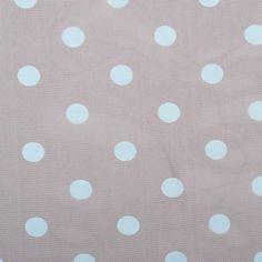 Black Coffee/Aqua Polka Dot Poly Mesh Fabric by the Yard | Mood Fabrics