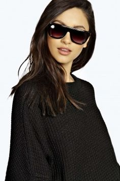 Daisy Flat Brow Frame Sunglasses - Sunglasses - Accessories
