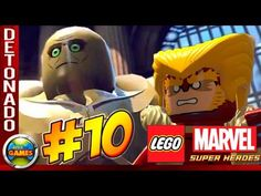 LEGO Marvel Super Heroes Parte #10 Confusão na Prisão Walkthrough